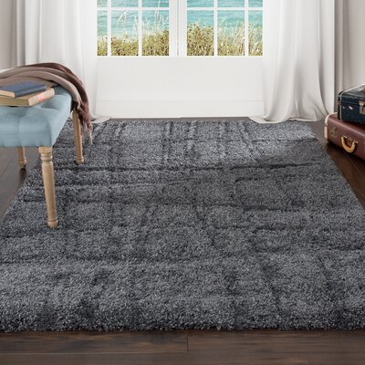 Danil Dark Grey Area Rug