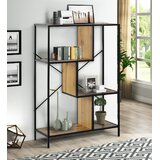 Bollitree 45.2 H x 31.5 W Metal Etagere Bookcase by 17 Stories