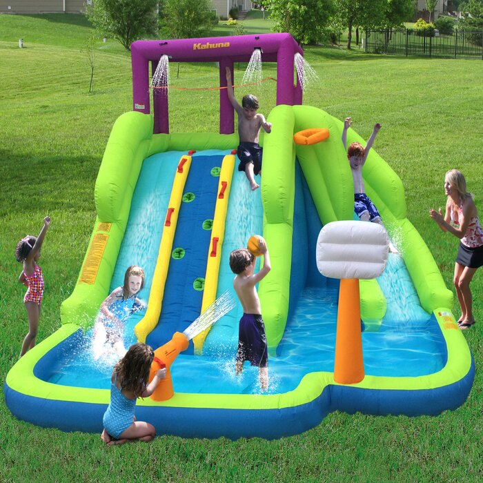 Blast Play Center Inflatable Water Slides