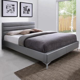 Affordable Price Upholstered Platform Bed by J&M Furniture Reviews (2019) & Buyer's Guide