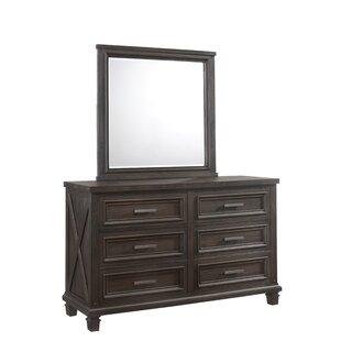 Gracie Oaks Cormac 6 Drawers Double Dresser