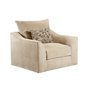 Callahan Swivel Club Chair by 17 Stories