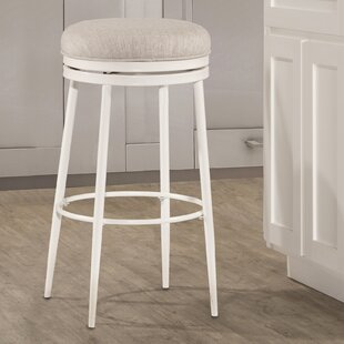 Lauri Round Backless Swivel Bar Stool Highland Dunes