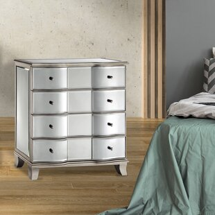 Spaulding 4 Drawer Nightstand by Rosdorf Park