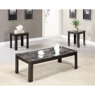 Colena Impressive 3 Piece Coffee Table Set by Fleur De Lis Living