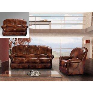 Noci Design Brown 2 Piece Living Room Set