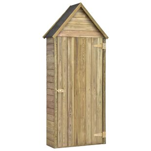 3 Ft. W X 1 Ft. D Solid Wood Tool Shed By WFX Utility