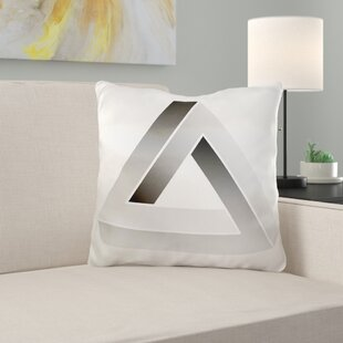 Panama Escher's Impossible Triangle Pillow Cover