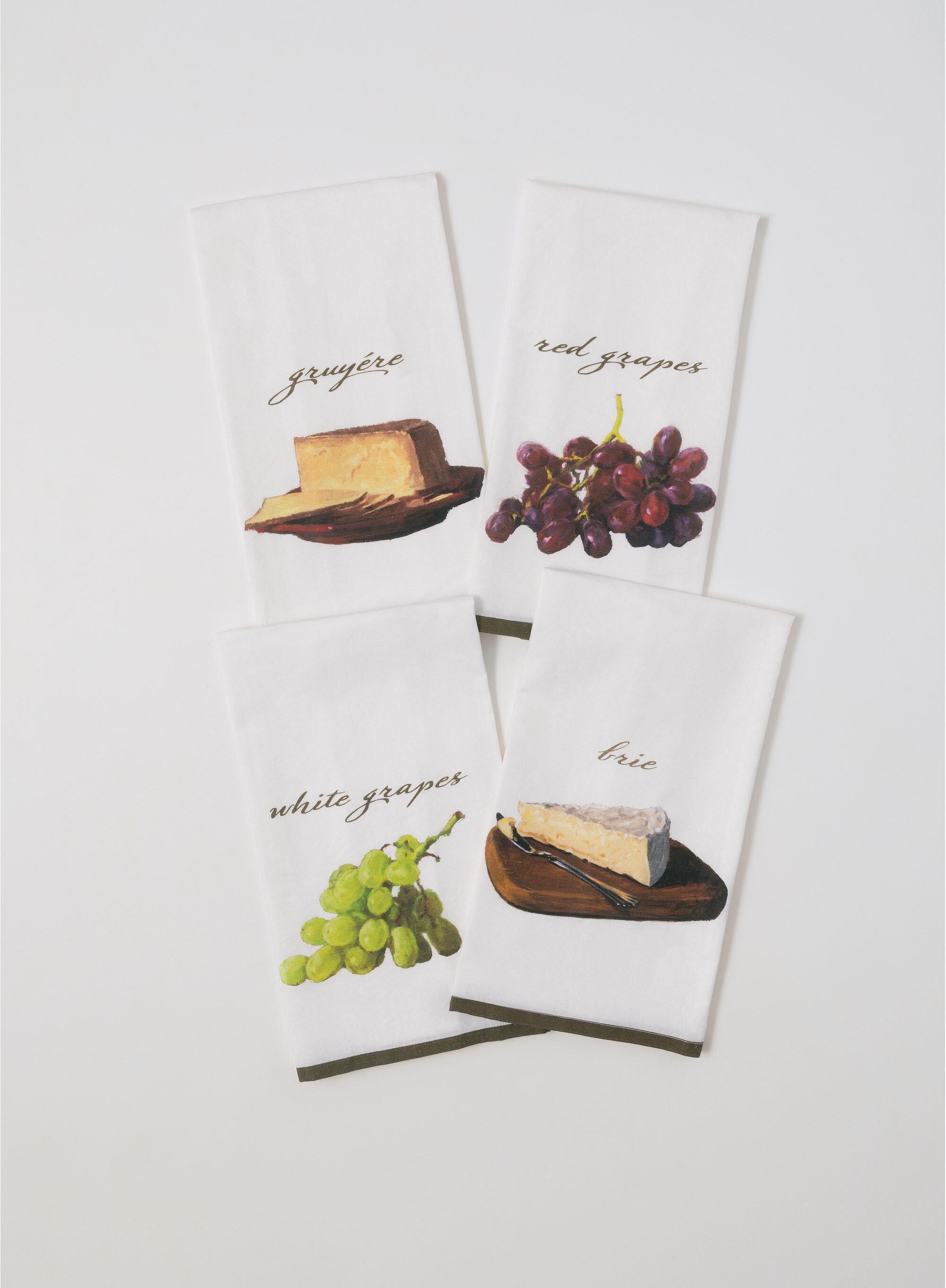 Fleur De Lis Living 4 Piece Gourmet Tea Towel Set Wayfair