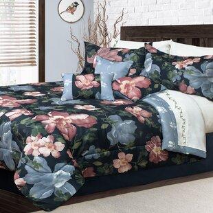 Hodgin Aquarelle Comforter Set