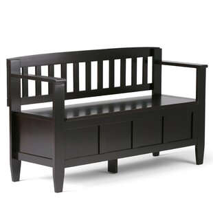 Review Brooklyn Wood Storage Bench
