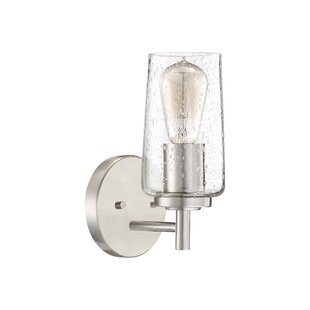 Ellenton 1-Light Bath Sconce By Latitude Run Wall Lights