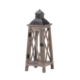 Zingz & Thingz Watchtower Wood Lantern