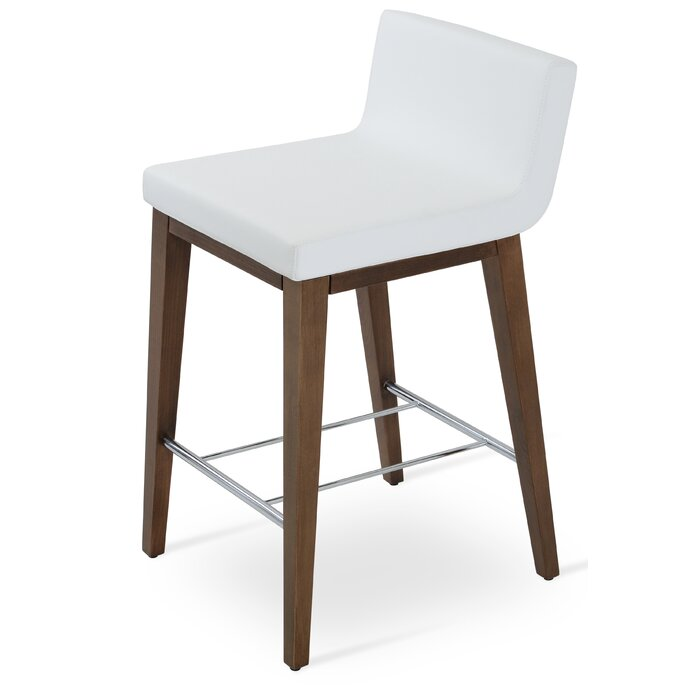 Stupendous Harlowe Wood 24 Bar Stool Pdpeps Interior Chair Design Pdpepsorg