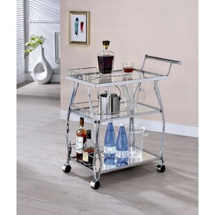 Schuster 3 Tier Bar Cart b..