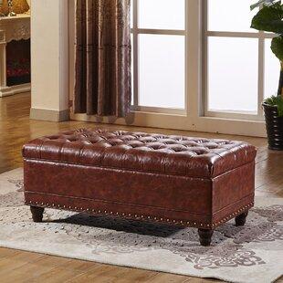 NOYA USA Elegant Wood Storage Bench