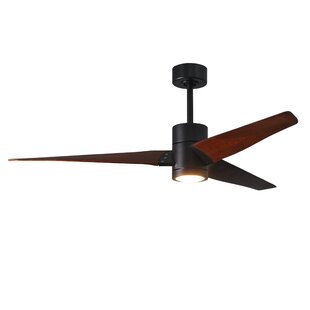 Buy clear 60 Hedman 3 Blade LED Ceiling Fan with Remote By Orren Ellis