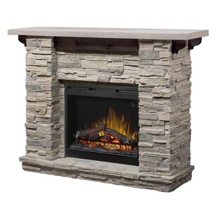 Richardson Recessed Electric Fireplace by Loon Peak