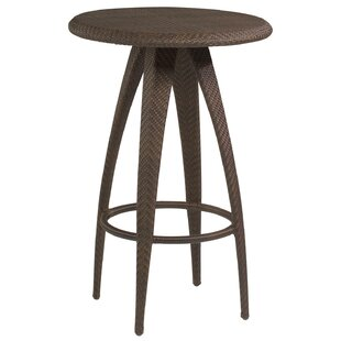 All-Weather Bali Bar Table with Woven Top