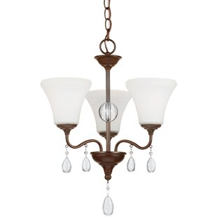 Astoria Grand Riverina 3-Light Shaded Chandelier