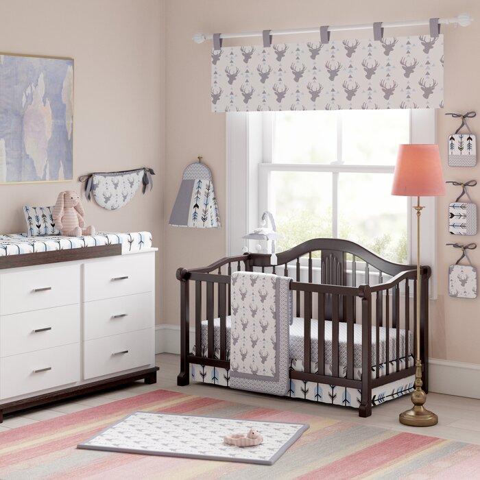 Swell Doug Deer Nursery Arrow 13 Piece Crib Bedding Set Pabps2019 Chair Design Images Pabps2019Com