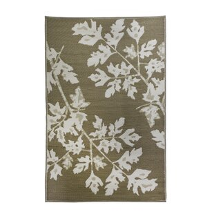 Premier Home Hand-Woven Tan/White Indoor/Outdoor Area Rug