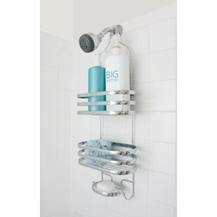Inexpensive Behan Stripe Shower Caddy By Rebrilliant