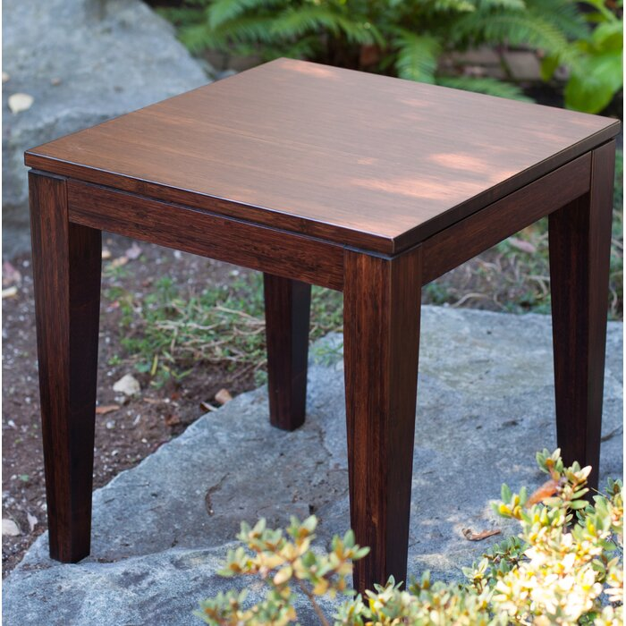 Guifford Bamboo End Table
