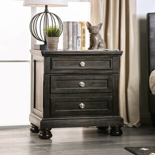 Dean 3 Drawer Nightstand