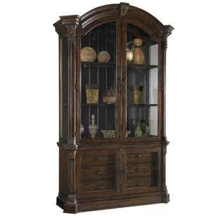 Carnaghliss Lighted China Cabinet by Astoria Grand
