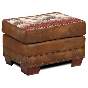 Lodge Deer Valley Ottoman by American Furnit..