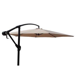 Vilonia Offset Adjustable Patio 10' Cantilever Umbrella by Freeport Park