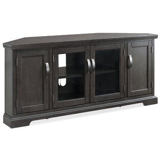 Hafner Corner 57 TV Stand by Bungalow Rose