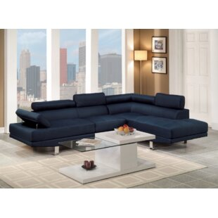 Heideman Sectional by Orren Ellis No Copoun