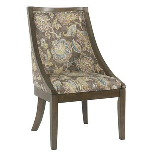 Rascon Upholstered Dining Chair by Canora..