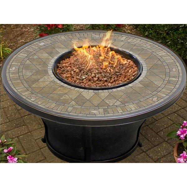 TK Classics Balmoral Aluminum Propane Fire Pit Table U0026 Reviews | Wayfair