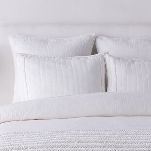 Alewife Solid White Sham by Langley Street