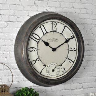 Isle Patina 14 5 Wall Clock