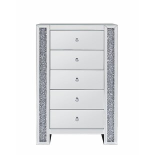 Kiley 5 Drawer Chest by Rosdorf Park