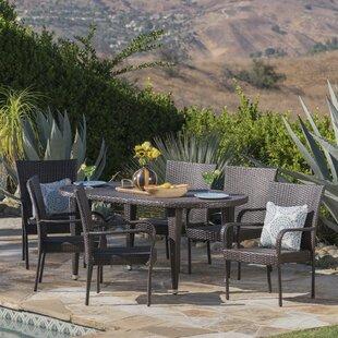 Renea 7 Piece Outdoor Dining Set