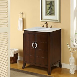 Bishop 27 Single Bathroom Vanity Set by Bloomsbury Market
