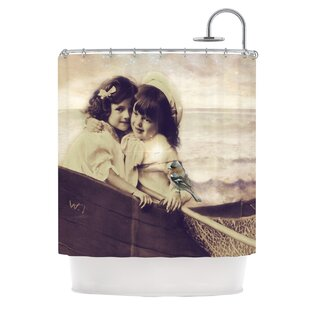 Suzannne Carter Journey Polyester Single Shower Curtain