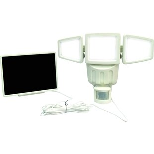 Solar Power Outdoor Security Flood Light with Motion Sensor by Myfuncorp