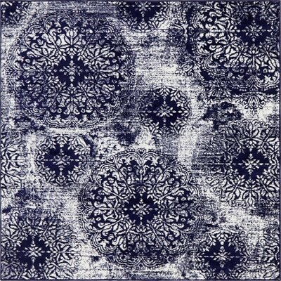5 Amp 6 Blue Square Rugs You Ll Love In 2020 Wayfair