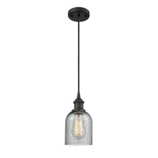 Gracie Oaks Odele 1-Light Bell Pendant