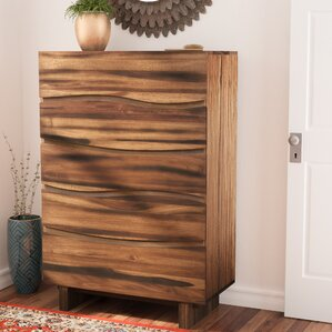 Austin 5 Drawer Chest by World Menagerie