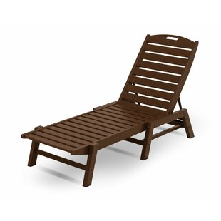 Nautical Chaise - Stackable by POLYWOOD?