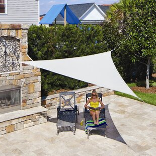 Triangle Shade Sail & Shade Sails Youu0027ll Love | Wayfair