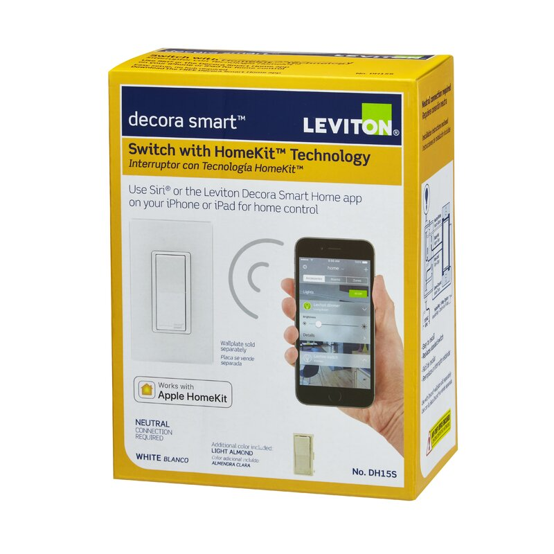Decora Smart Switch Wall Mounted Dimmer with Apple Homekit Technology