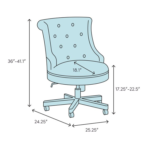 Symple Stuff Thoman Task Chair Reviews Wayfair